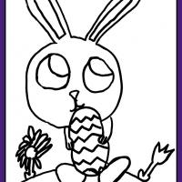 Easter Colouring Challenge 2020