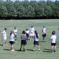 10s outdoor lesson