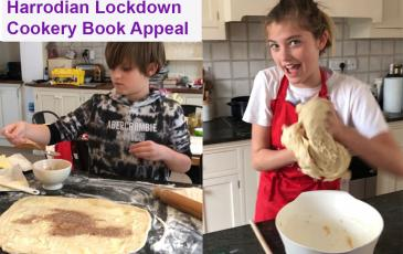 lockdown cookery book appeal
